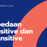 Perbedaan Transitive dan Intransitive