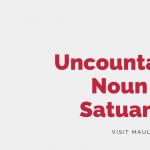 Uncountable Noun dan Satuannya