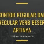 Contoh Regular dan Irregular Verb Beserta Artinya