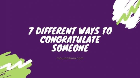 7 Different Ways To Congratulate Someone